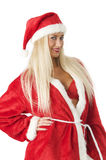Sexy santa claus Stock Photography