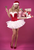 Sexy santa Royalty Free Stock Photos