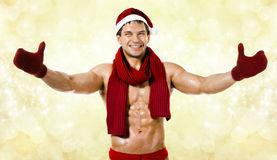 Sexy Santa Claus Royalty Free Stock Photos