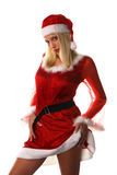 Sexy santa claus woman Stock Photos