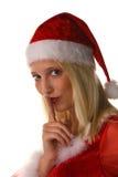 Sexy santa claus woman Royalty Free Stock Photo