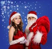 Sexy santa Stock Photography