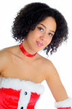 Sexy Santa Costume Stock Photography