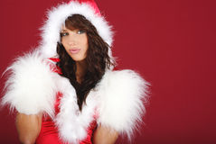 Sexy santa girl Royalty Free Stock Photography