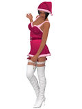 Sexy santa girl Stock Photography