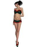 Sexy santa girl. 3d render of a sexy santa girl Royalty Free Stock Photos