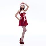 Sexy santa girl Royalty Free Stock Photo