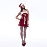 Sexy santa girl Royalty Free Stock Image