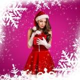 Sexy santa girl Royalty Free Stock Photography