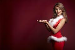 Sexy santa helper Stock Photos