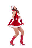 Sexy santa helper Stock Image