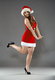 Sexy Santa helper Stock Photography