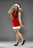Sexy Santa helper Stock Photos