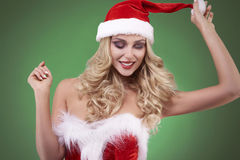 Sexy santa Royalty Free Stock Photography