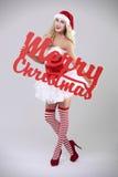 Sexy santa Stock Image