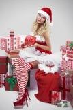 Sexy santa Stock Photo