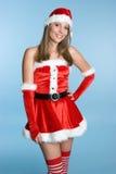 Sexy Santa Woman Royalty Free Stock Images