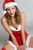 Sexy Santa Woman Royalty Free Stock Photos