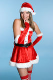 Sexy Santa Woman Stock Images