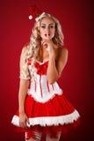 Sexy santahelper Stock Fotografie