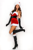 Sexy Santas Helper girl Stock Photography