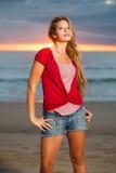 sasy sunrise Royalty Free Stock Photography