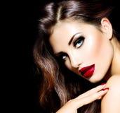 Sexy Schönheits-Mädchen Stockfotos