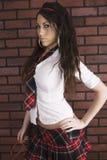 Sexy school girl Royalty Free Stock Image