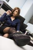 Sexy Secretaresse Royalty-vrije Stock Fotografie