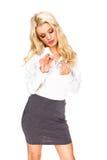 Sexy secretary Stock Photography