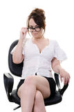 Sexy secretary Royalty Free Stock Images