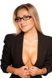 Sexy secretary. Stock Image
