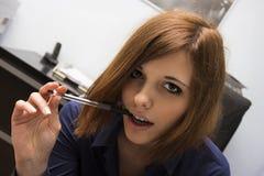Sexy Secretary Stock Image