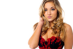 Sexy seductive lingerie model Stock Photo