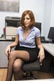 Sexy Sekretär Stockbild