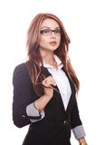 sensual businesswoman Stock Photography