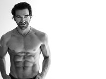 shirtless man Royalty Free Stock Image