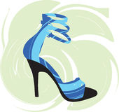 Sexy shoes illustration Royalty Free Stock Images