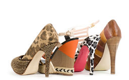 shoes isolated Royalty Free Stock Photography