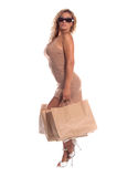 Sexy Shopper Royalty Free Stock Image