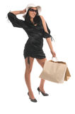 Sexy Shopper Royalty Free Stock Images