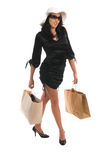 Sexy Shopper Royalty Free Stock Photo