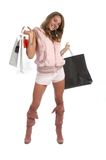 Sexy Shopping Royalty Free Stock Image
