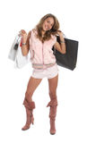 Sexy Shopping Royalty Free Stock Photography