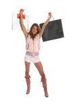 Sexy Shopping Stock Photography
