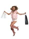 Sexy Shopping Royalty Free Stock Photo