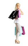 Sexy shopping woman Stock Photo