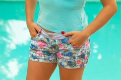 Sexy Short Pants Royalty Free Stock Photo