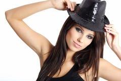 Sexy show girl Royalty Free Stock Photos