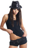 Sexy showgirl Stock Fotografie